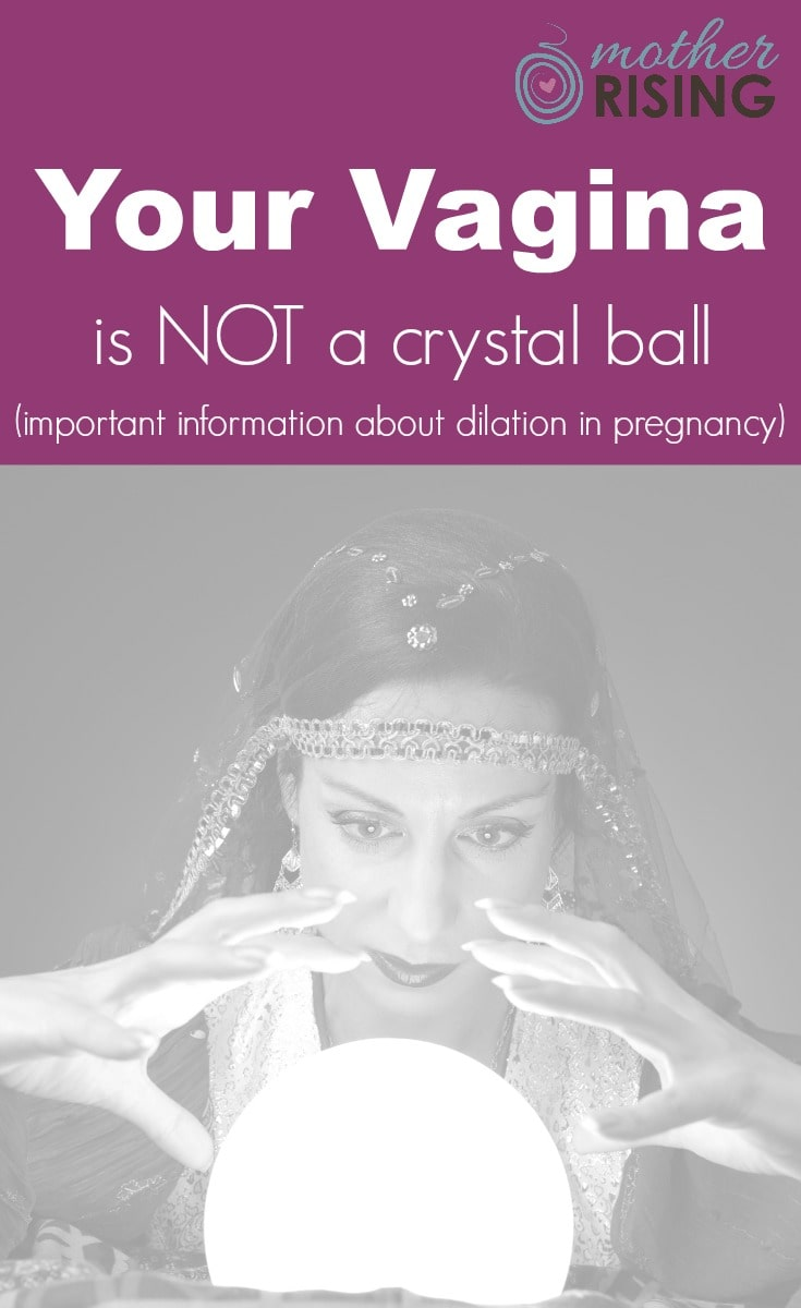 What does dilation in pregnancy tell me? When will I get a vaginal exam? What sort of information will it tell me? These questions answered and more!