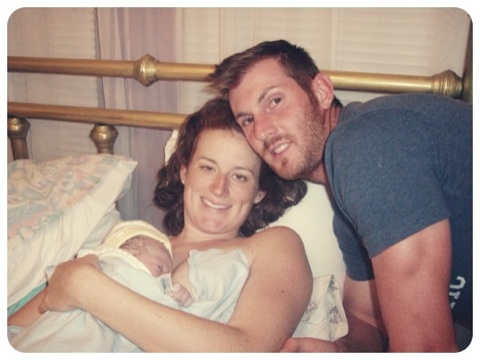 Here's the story of my first birth, which is one of my three natural birth stories.
