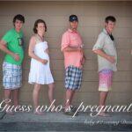 Big News! 10 Weeks Pregnant – Pregnancy Announcement Ideas
