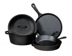 cast iron set