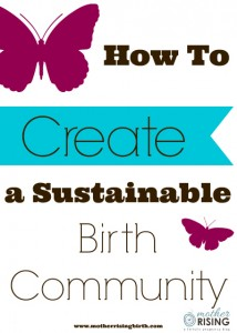 birth community 2