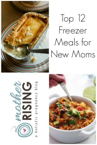 top 12 freezer meals for new moms featured