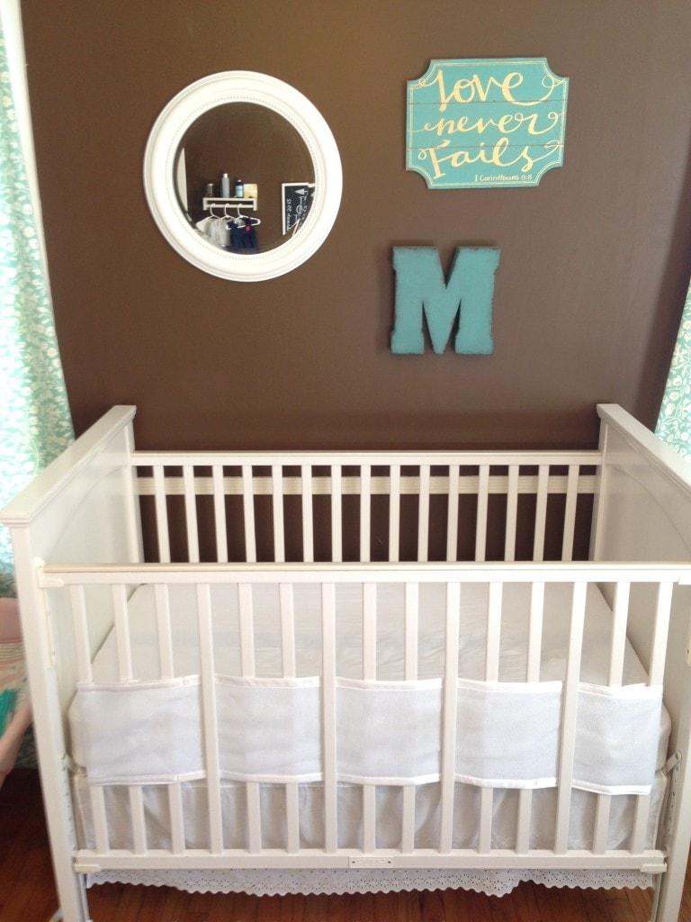 mastursery a nursery in master bedroom mother rising