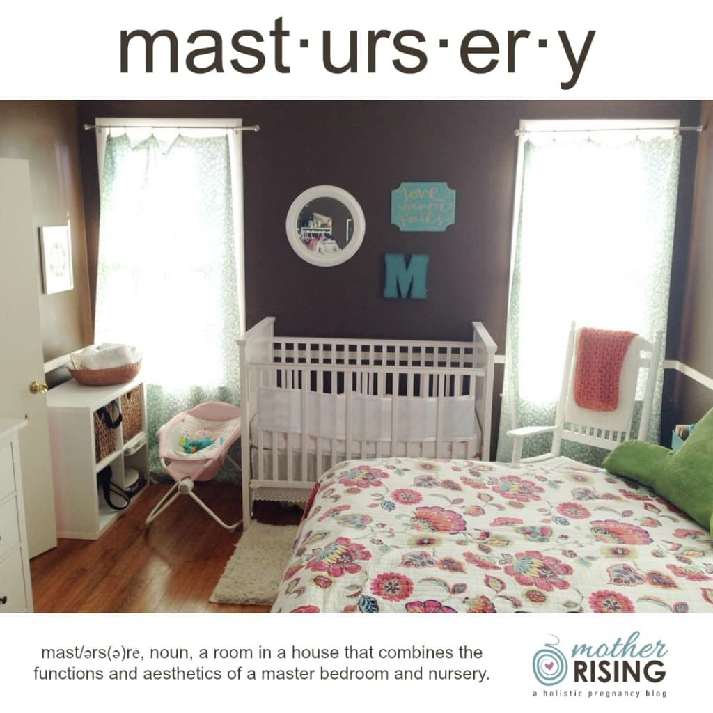 Mastursery: A Nursery In Master Bedroom