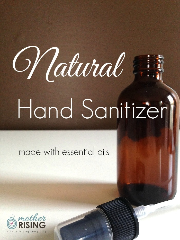 Hand sanitizer has its place, but the chemicals in conventional sanitizers are scary. Let's make our own natural hand sanitizer instead! Problem solved.