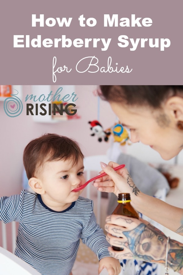 Some of the most vulnerable to colds and flu are babies. Use this recipe and learn how to make elderberry syrup for babies to boost your child's immune system for a healthy and happy year!