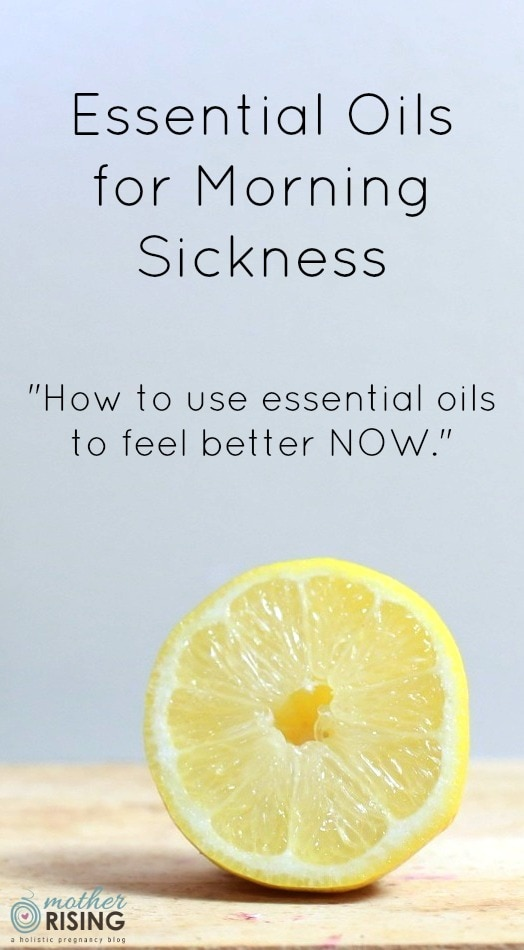 Using essential oils for morning sickness is one of my favorite natural pregnancy remedies. Aromatherapy can be a safe, simple and very effective remedy for feeling better RIGHT NOW.