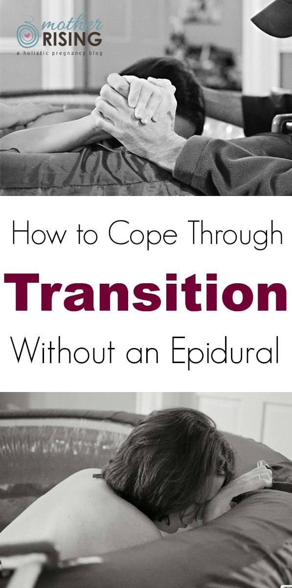 transition without an epidural