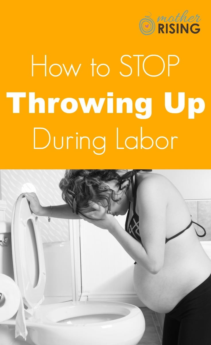 There are many ways to stop throwing up during labor, or at least minimize it. Here are the best tried and true remedies to stop throwing up during labor.
