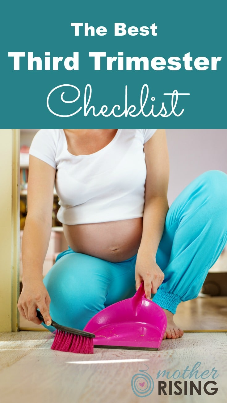 The third trimester is the final homestretch before baby. Many things need to be done to ensure a healthy, natural and happy transition to parenthood. Use this third trimester checklist to get things done, without going insane!