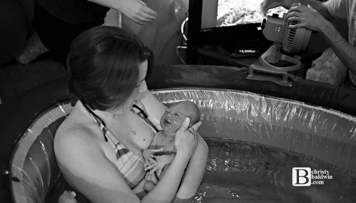 A water birth is helpful for pain coping, relaxation and easier birthing. It has even been called a natural epidural! In this post we will cover all things water birth - the benefits, warnings, tips and tricks.