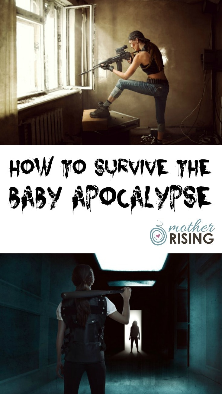 Labor, delivery and postpartum are comparable to the apocalypse. I affectionately describe this as the baby apocalypse. Here's how to survive.