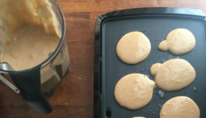 Plantain Pancakes Made in a Blender (Grain Free) | Mother Rising