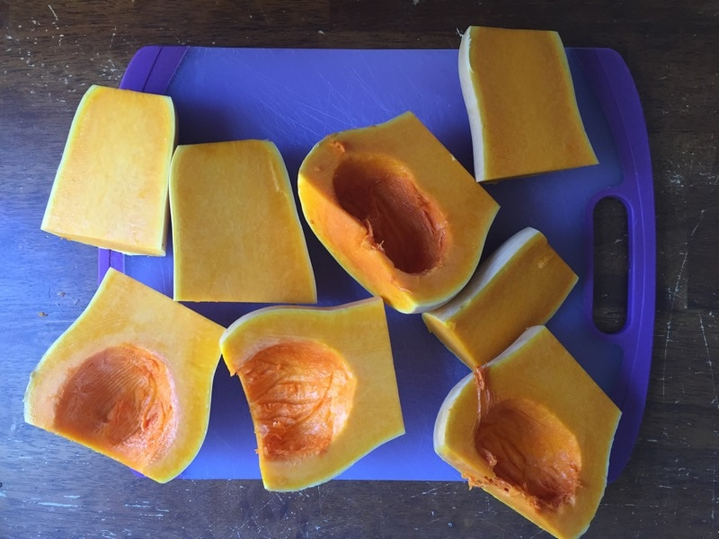 This coconut curry butternut squash soup is delicious and simple to make in the Instant Pot. If you love coconut, curry and squash you'll love this recipe.