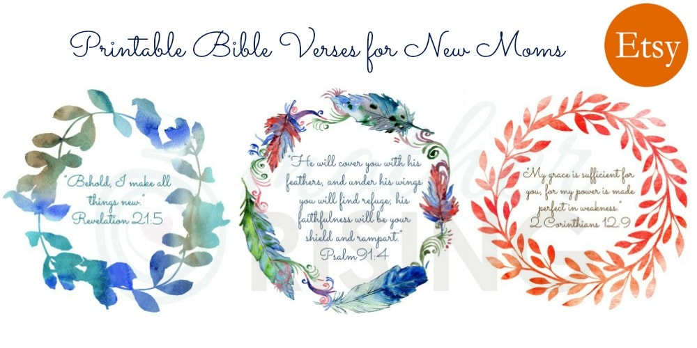 Mothering for the first time may fill us with wonder, fear, doubt, excitement, isolation, hope, and many other complicated emotions.  Use these 30 powerful bible verses for new moms to stay grounded in truth, connected to the Lord, and encouraged in your faith.