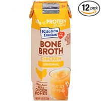 Kitchen Basics Original Chicken Bone Broth, 8.25 oz (Pack of 12)