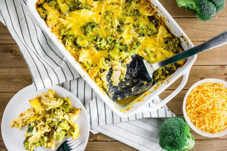 Broccoli Chicken and Rice Casserole for New Moms