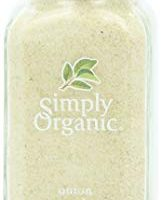 Simply Organic Onion, White Powder Certified Organic, 3-Ounce Container