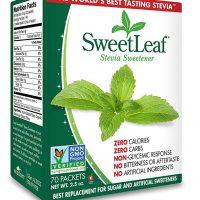 SweetLeaf Natural Stevia Sweetener, 70 Count