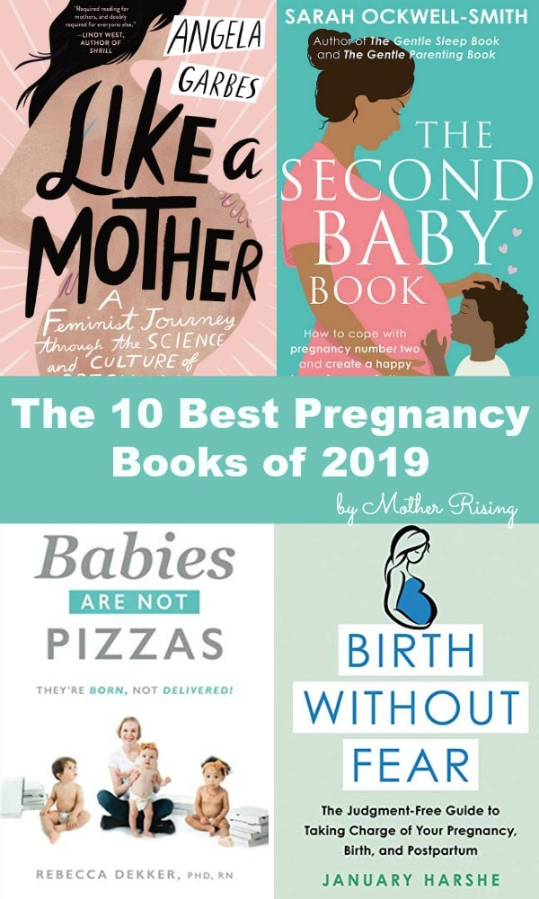 The top 10 pregnancy books of 2019. Check them out! #pregnancy #booklist #thirdtrimester #secondtrimester #thirdtrimester #hospitalbirth #homebirth